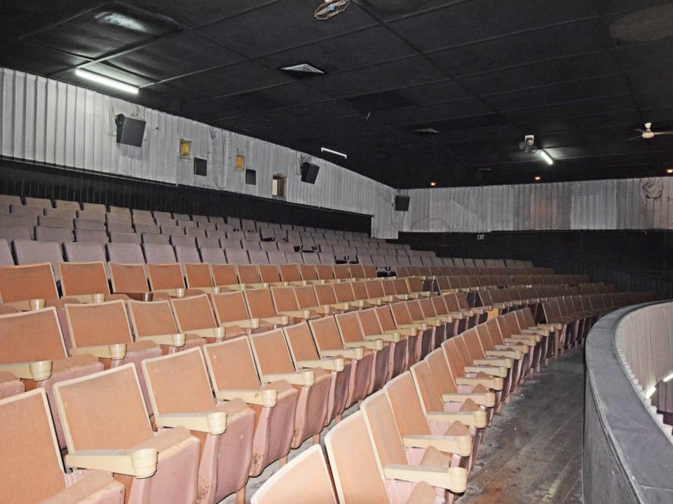 Balcony Seats in the Globe Cinema