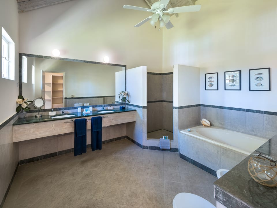 Spacious Master bathroom suite