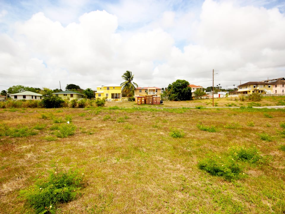 Large residential plot