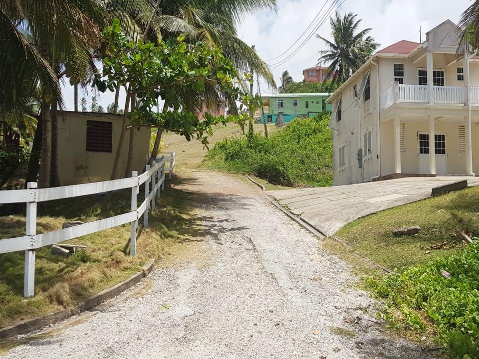 Road view of the cul-de-sac
