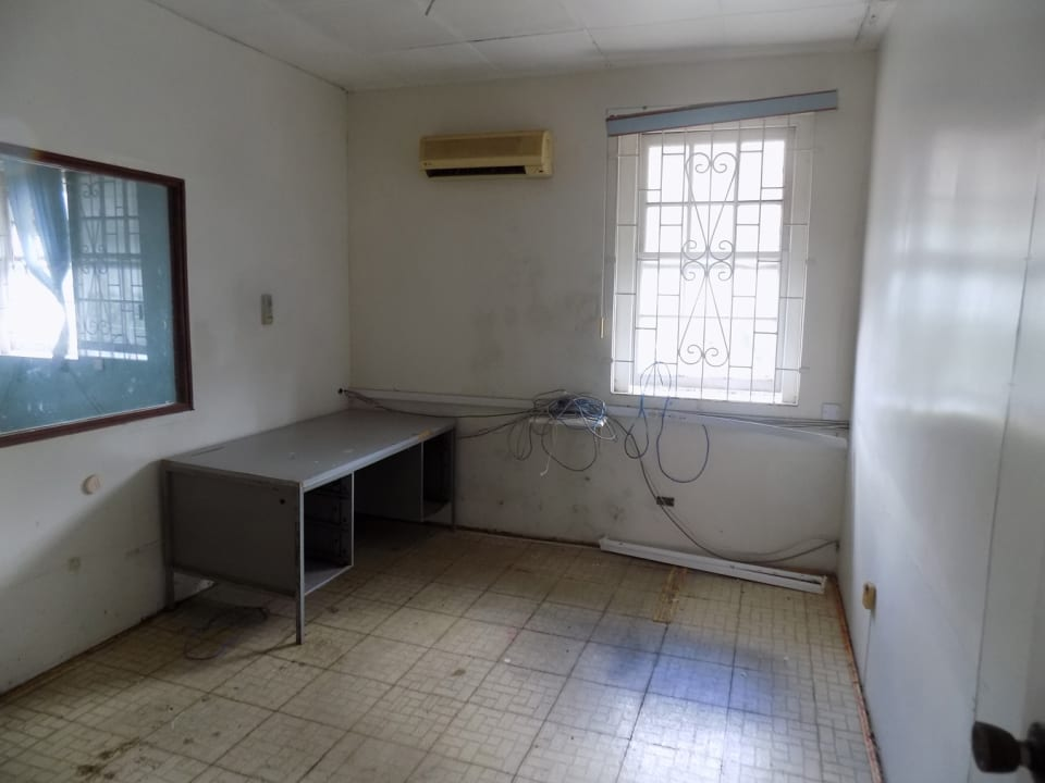 Office area in the main structure