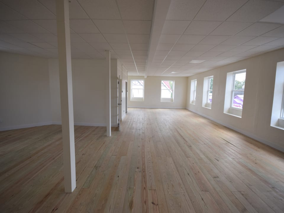 Large open plan space