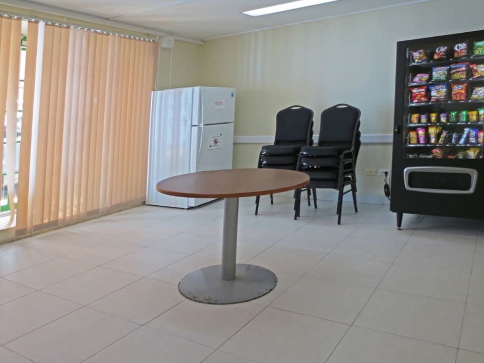 Lunch room on ground floor