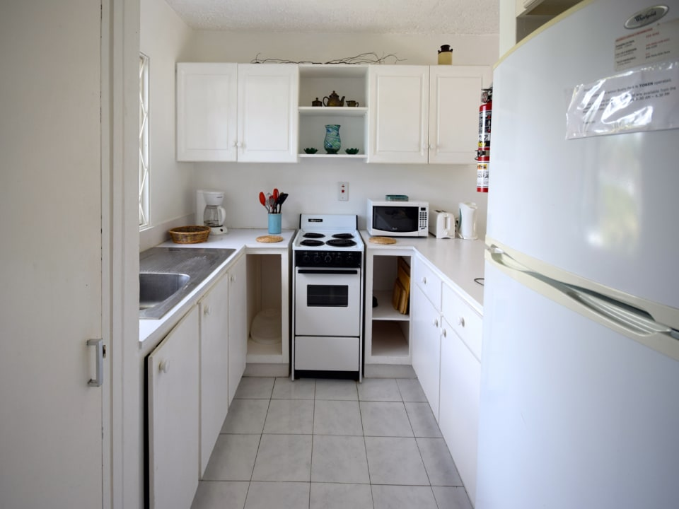 Open plan kitchen