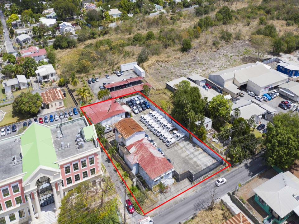 Aerial view of Tamarind
