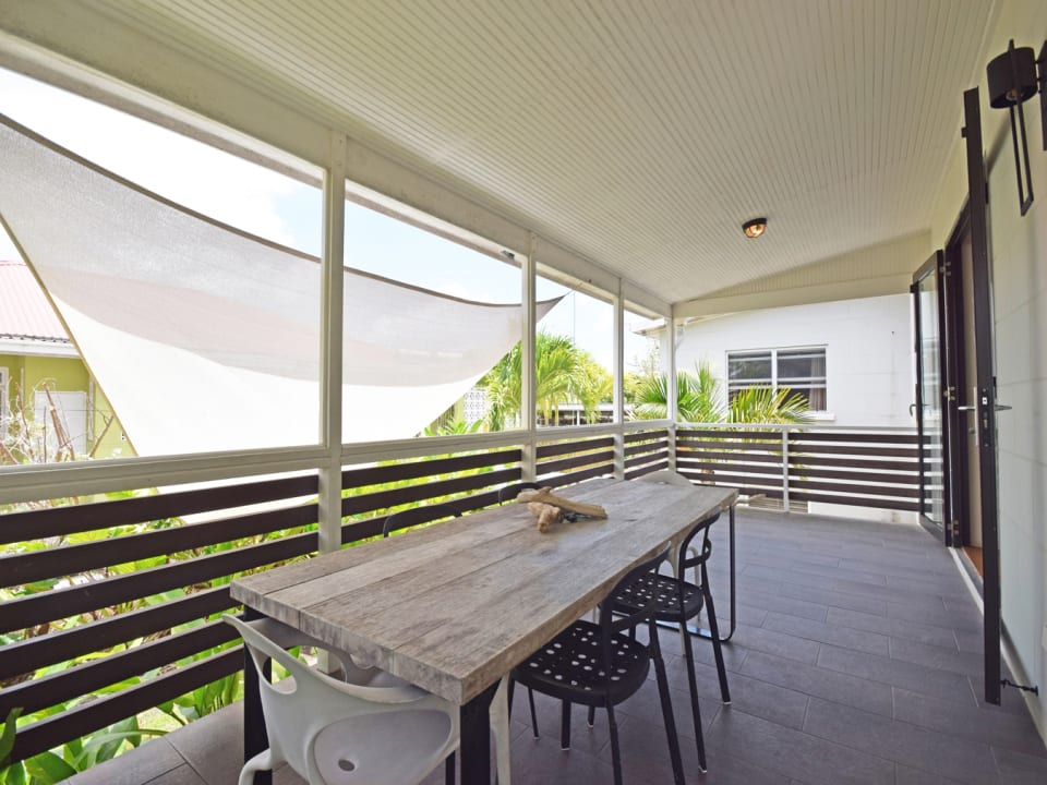 Patio for outdoor Dining