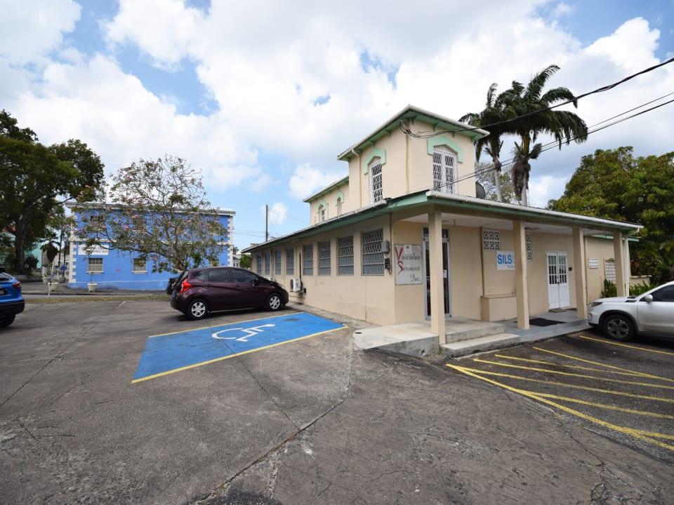 Entrance to rental - Barbados