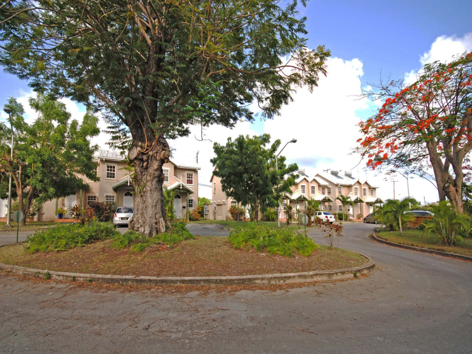 Nicely landscaped grounds and ample parking