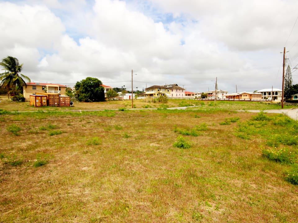 View of lot 10