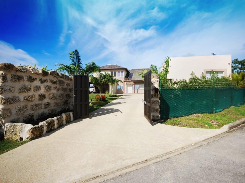 Entrance to Villa Ravello