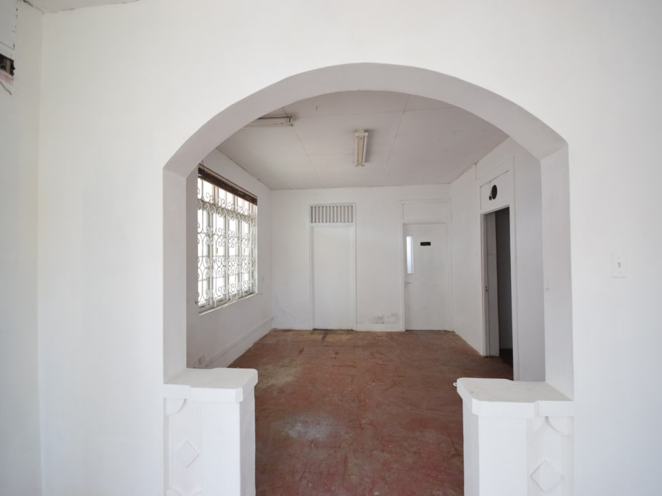Attractive archway from main room