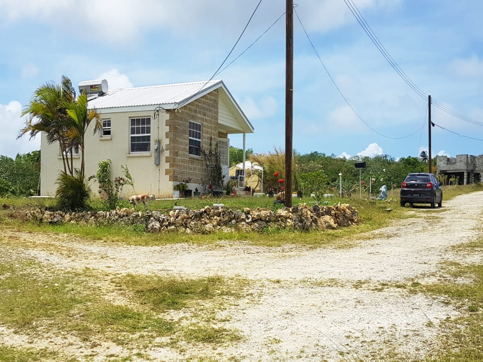 Neighbouring homes within Littland Plantation