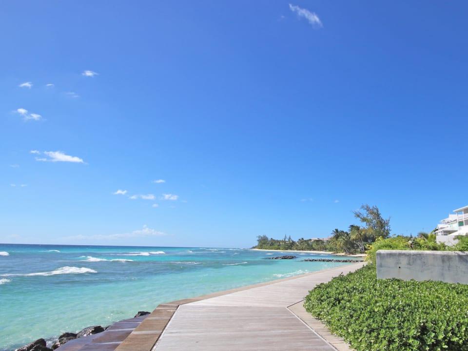 Barbados Boardwalk 5 Mins Walk