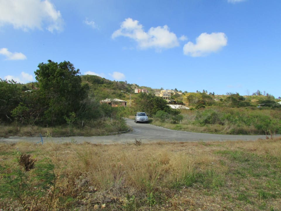 Looking inland from Lot 11