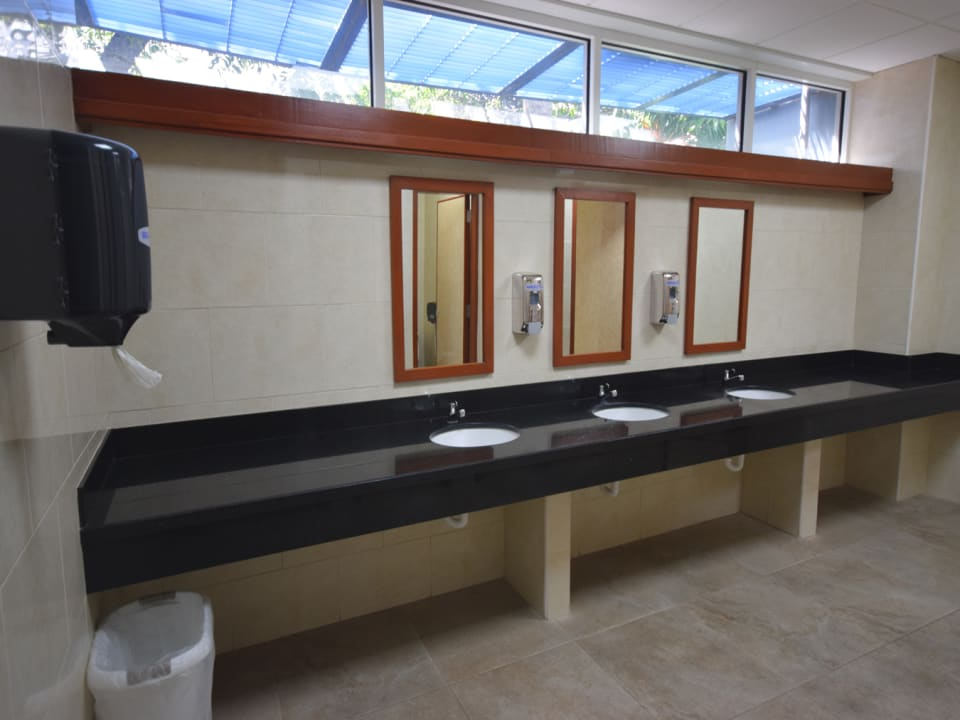 Ladies washroom