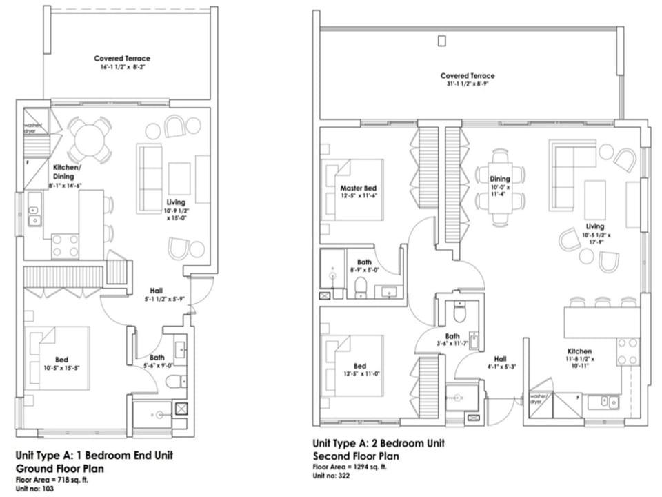 Floor Plans of Harmony Hall Green