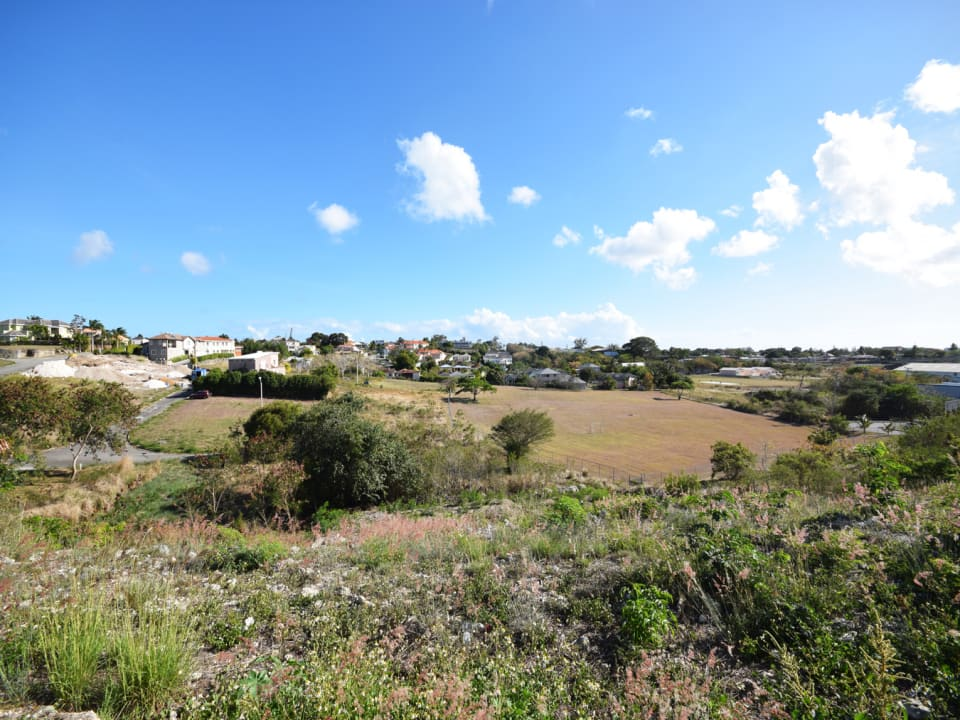Elevated lot in Fort George Heights Barbados