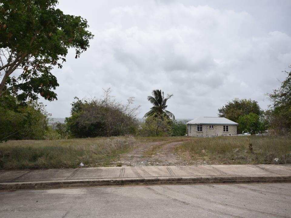 Lot and house next door