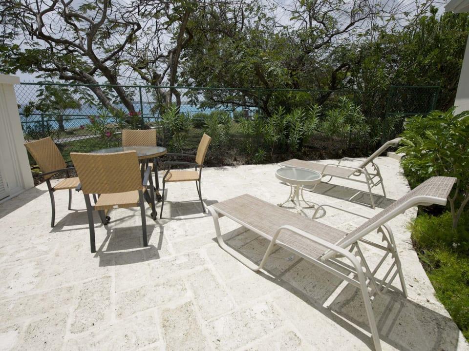 Sunbathing spot