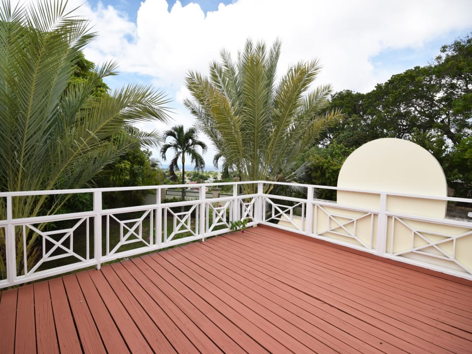 Sea view master bedroom terrace