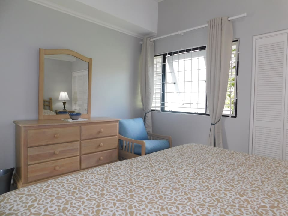 Main Bedroom with good cupboard space and natural light