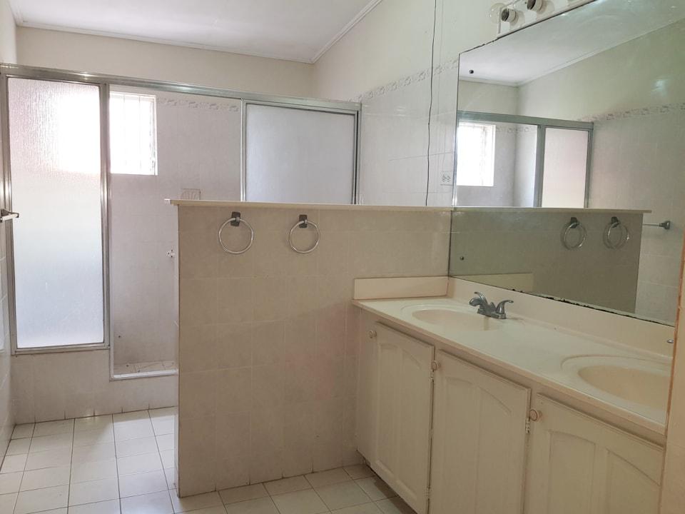 Large shared bathroom