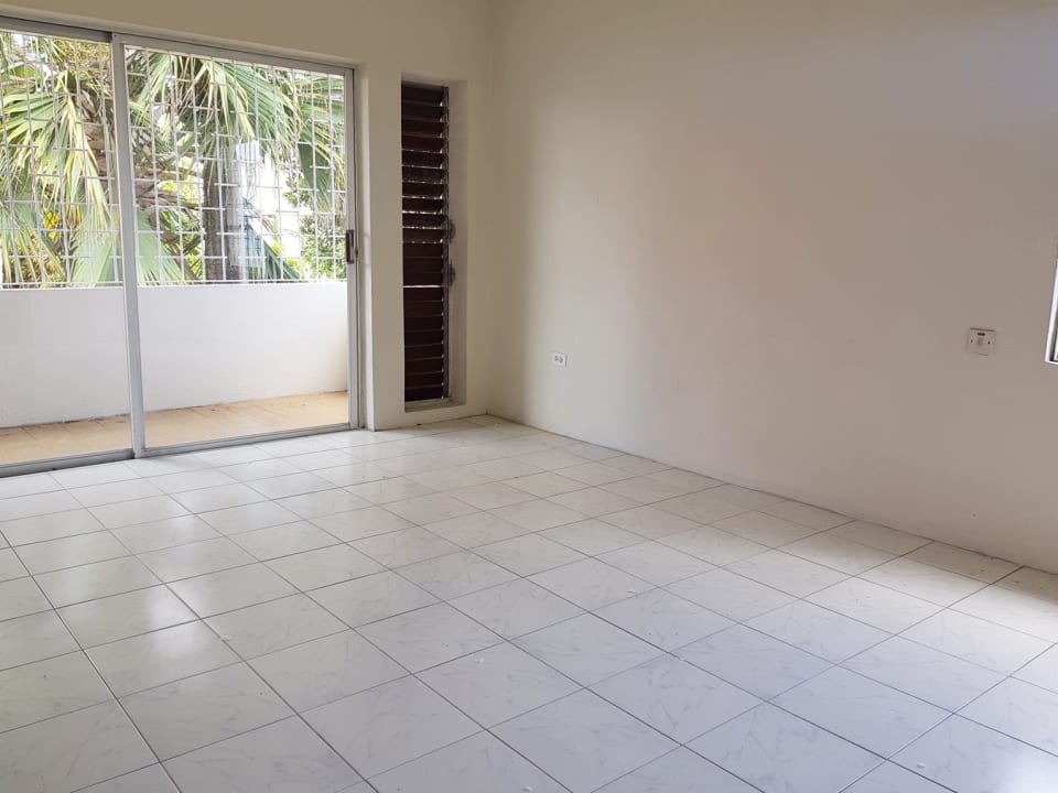 Bedroom with private patio