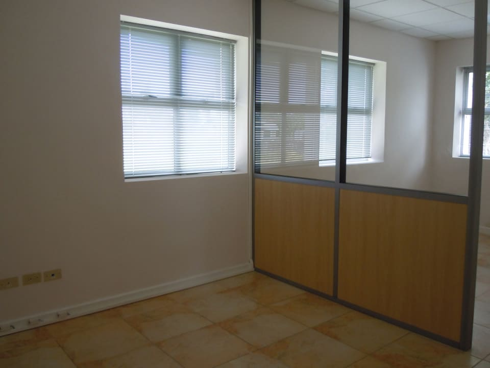 Office with divider