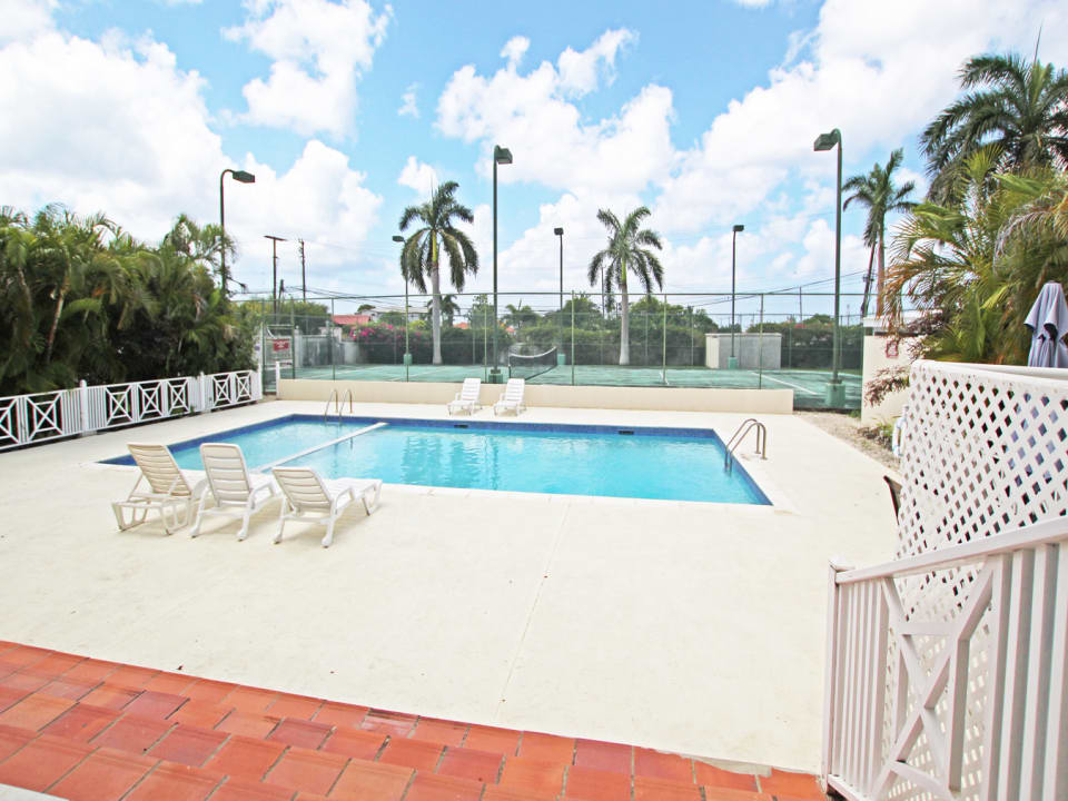 Shared Pool and Tennis Courts