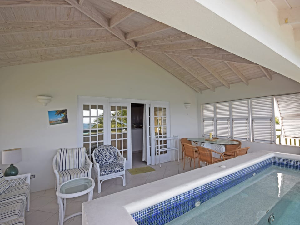 Plunge Pool and Patio