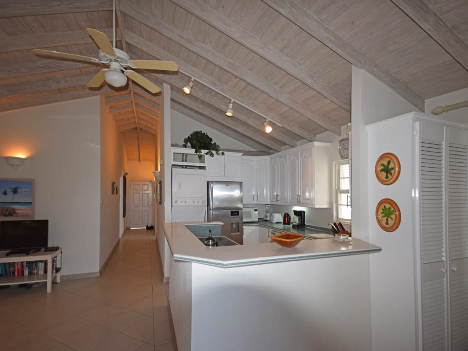 Kitchen and Hall Way
