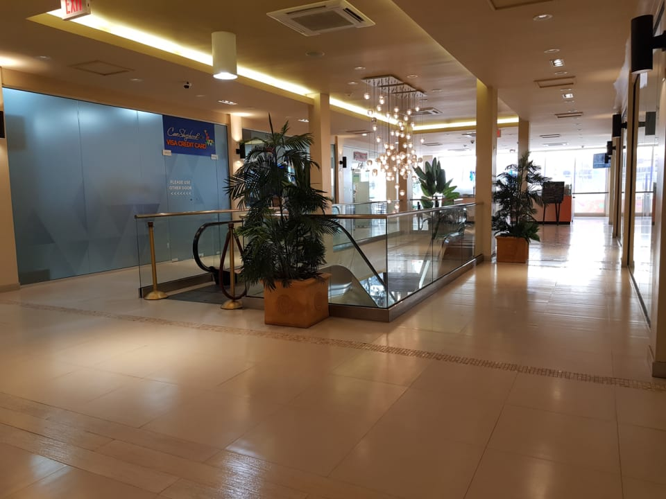 First Floor with Escalators