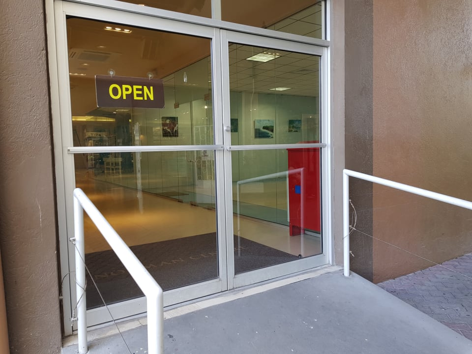 Side Street Entrance