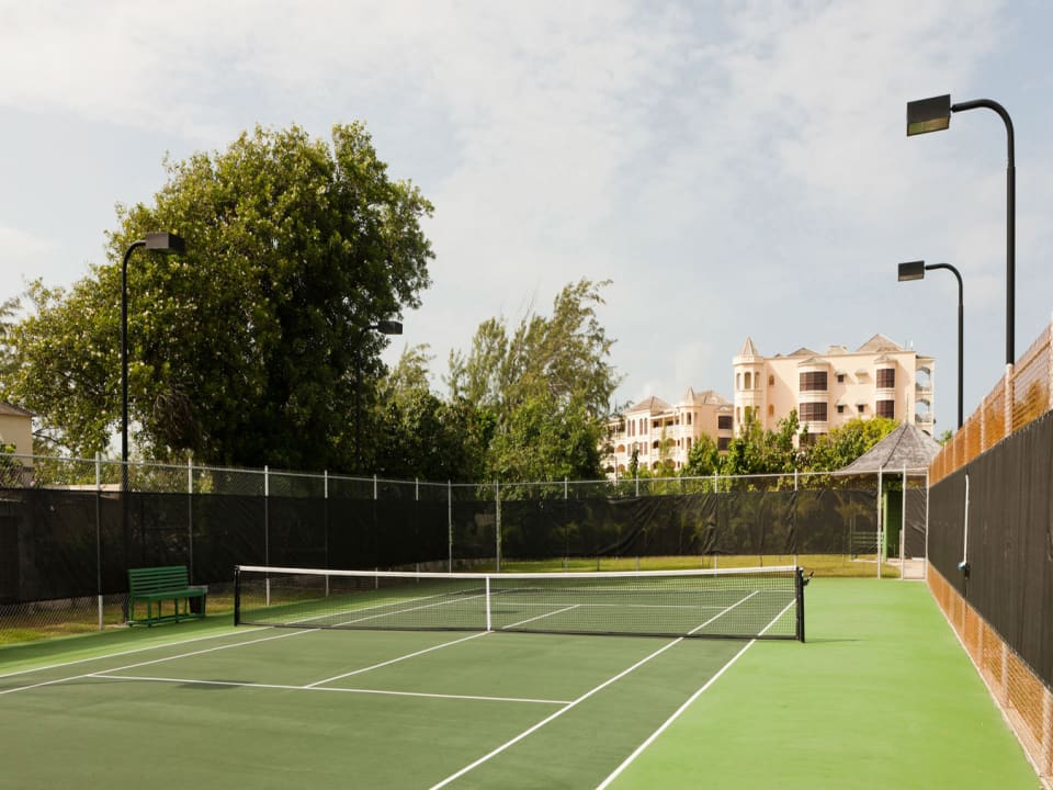 The Crane tennis courts