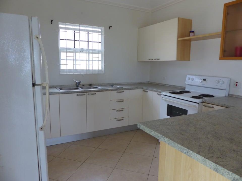 Kitchen includes appliances