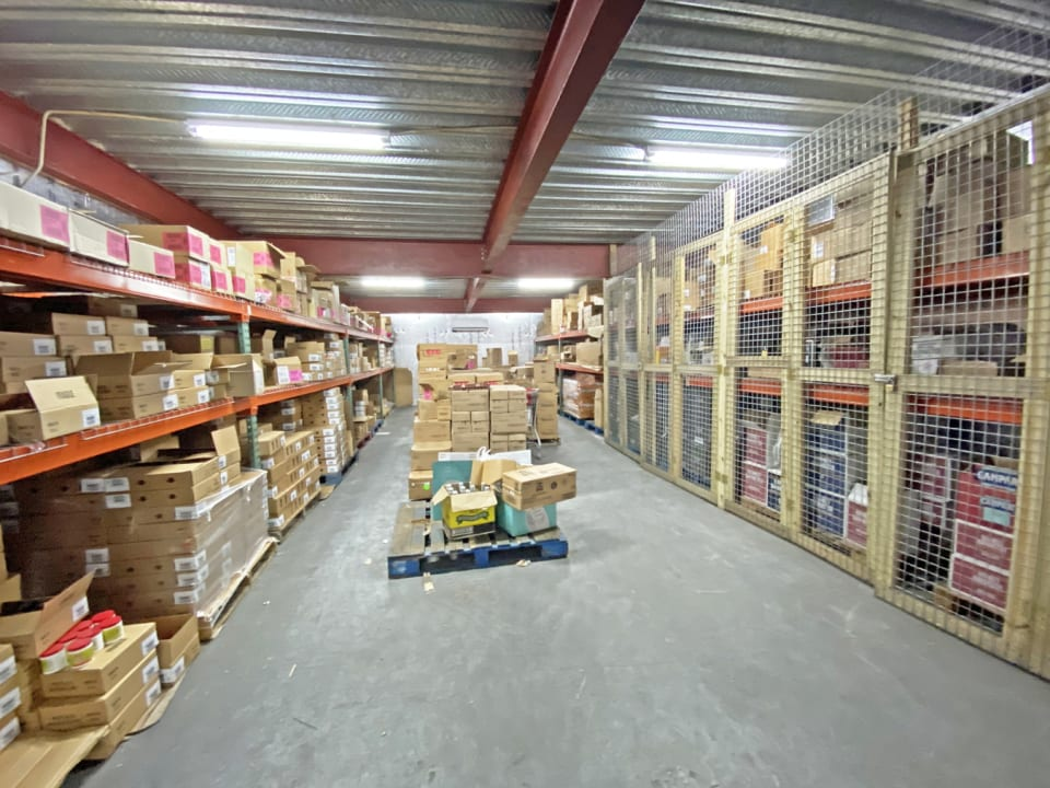 Secure storage areas