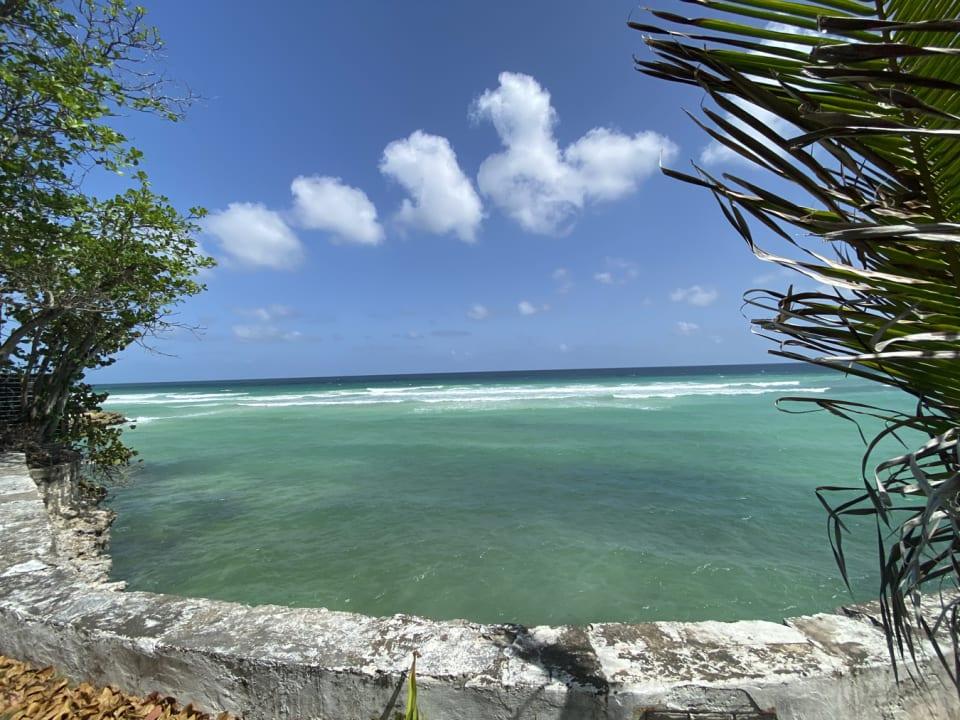Ocean frontage
