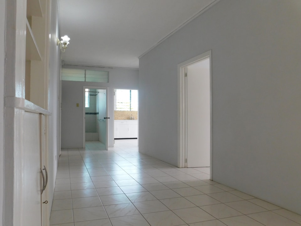 Large Corridor with additional cupboard spaces