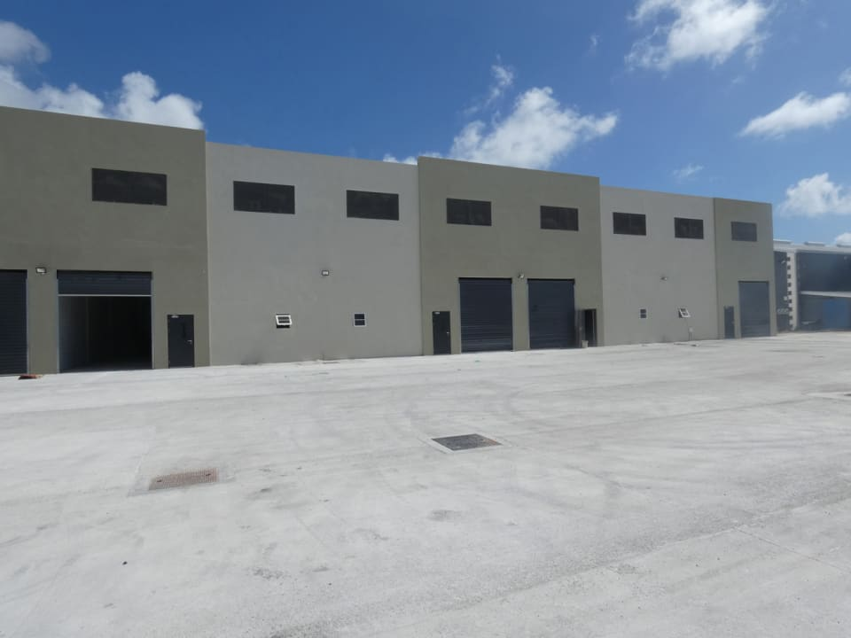 Warehouse Block and Parking Area