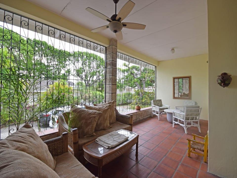 Breezy wrap around verandah