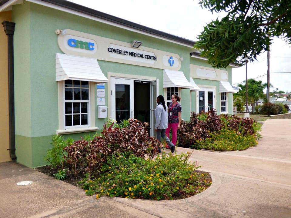 Medical Centre Entrance