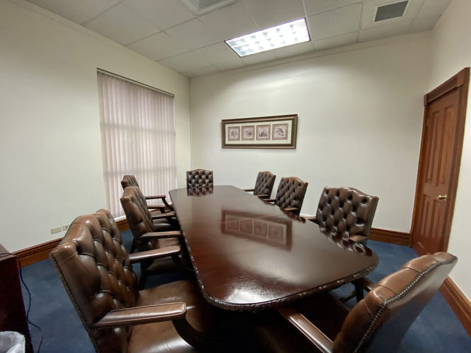 Executive office or small boardroom