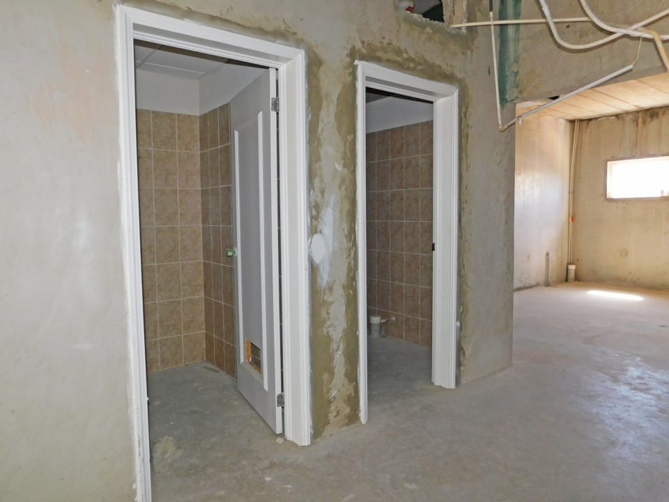 Two Bathroom Areas (toilet and sink provided)