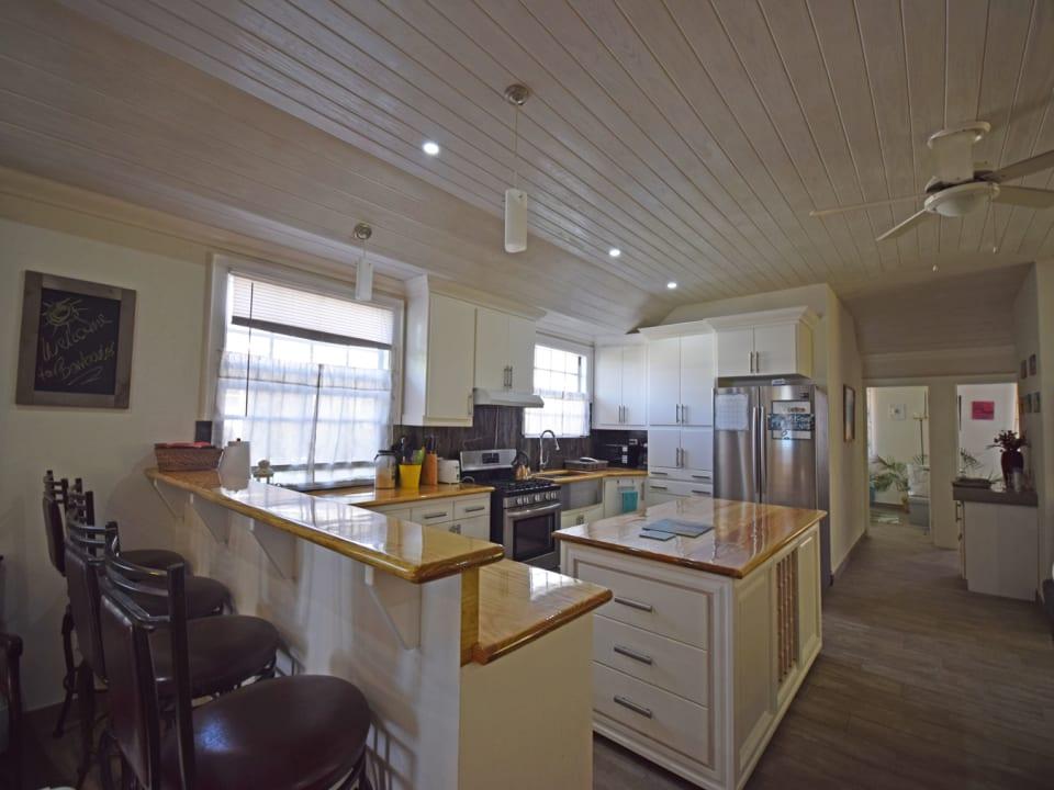 Modern kitchen with an island