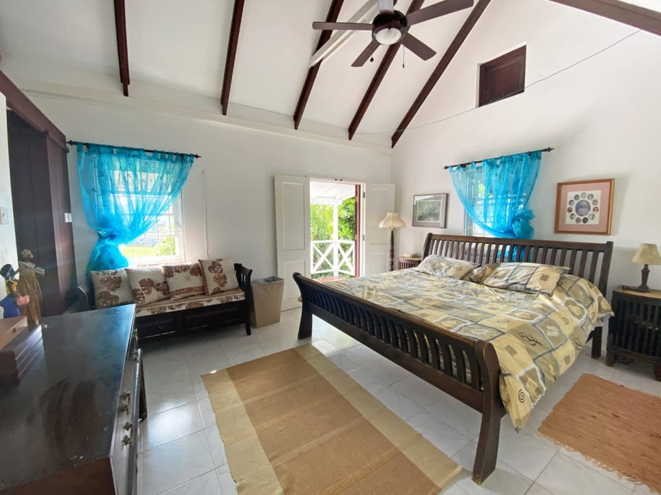 Master bedroom with private terrace
