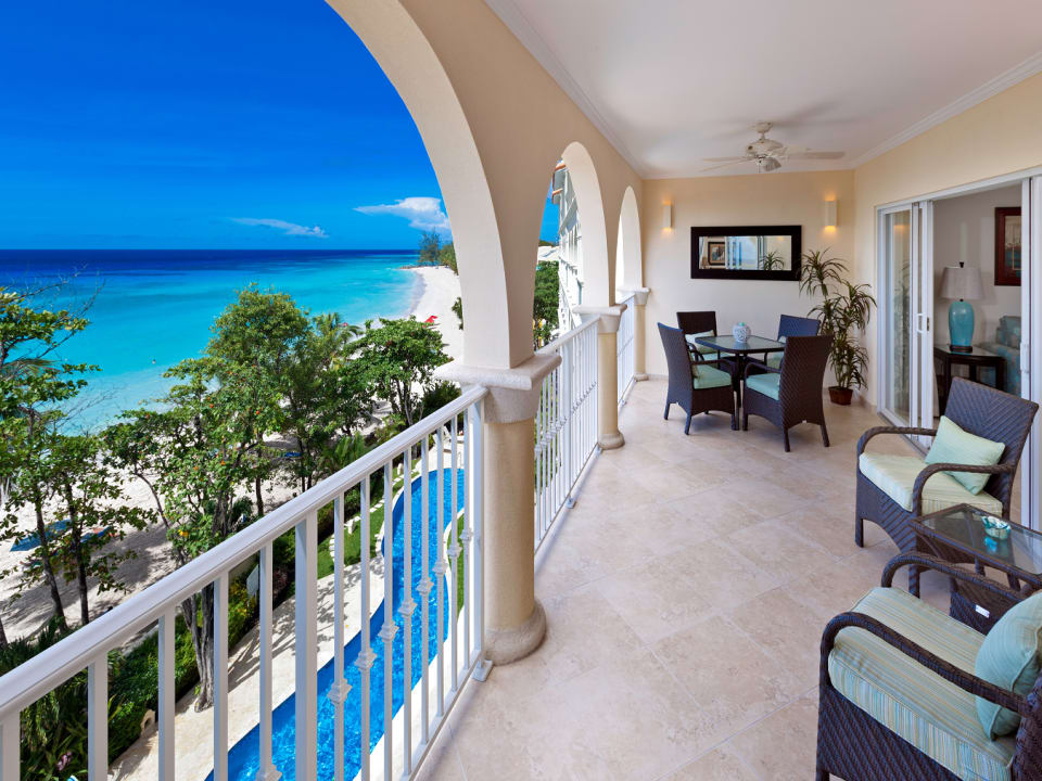 Patio and Amazing View of the Caribbean Sea