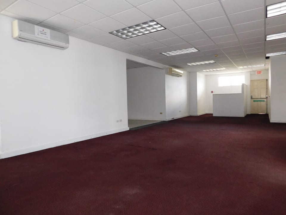 Open Plan with emergency exit