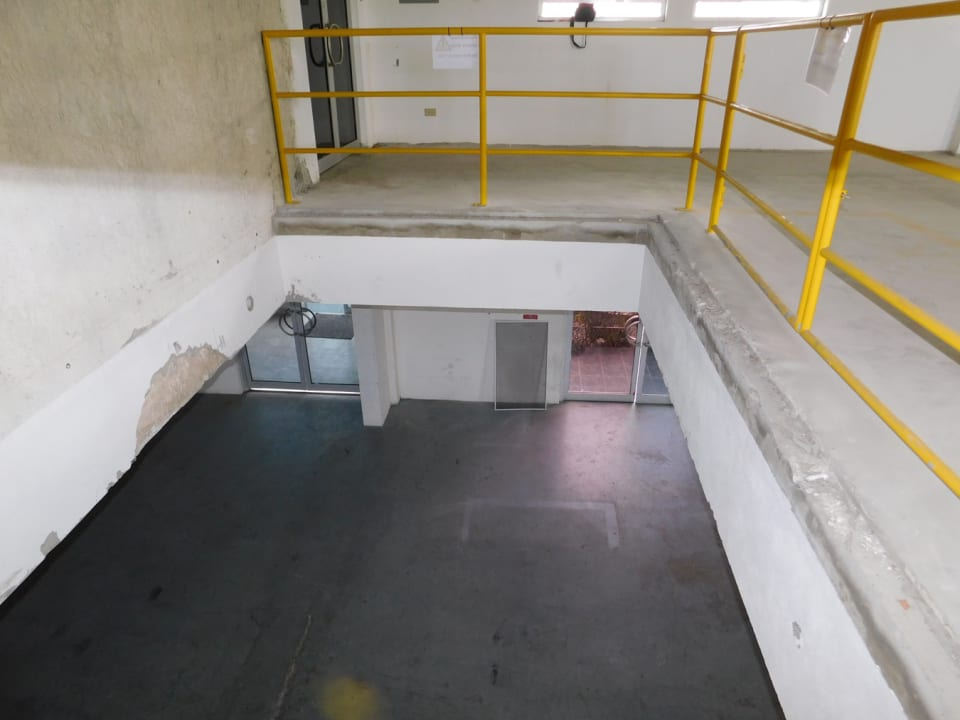 Loading bay internally to the Mezzanine