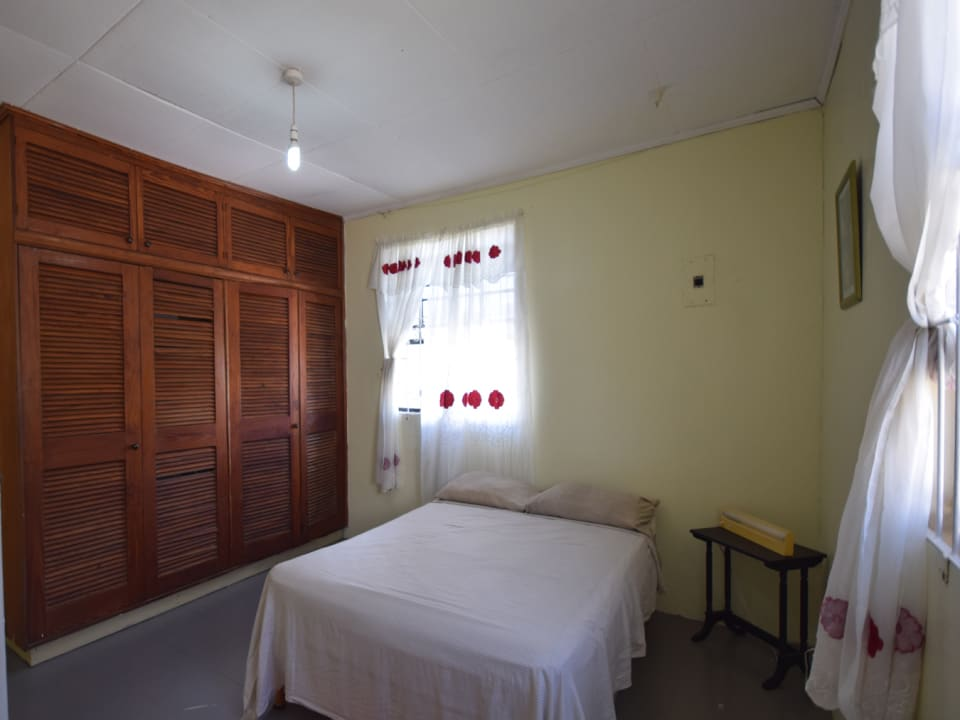 Bedroom with ample cupboard space