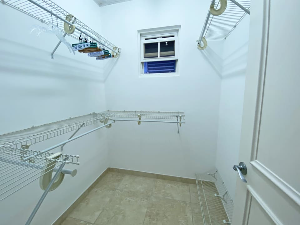 All bedrooms have large walk in closets